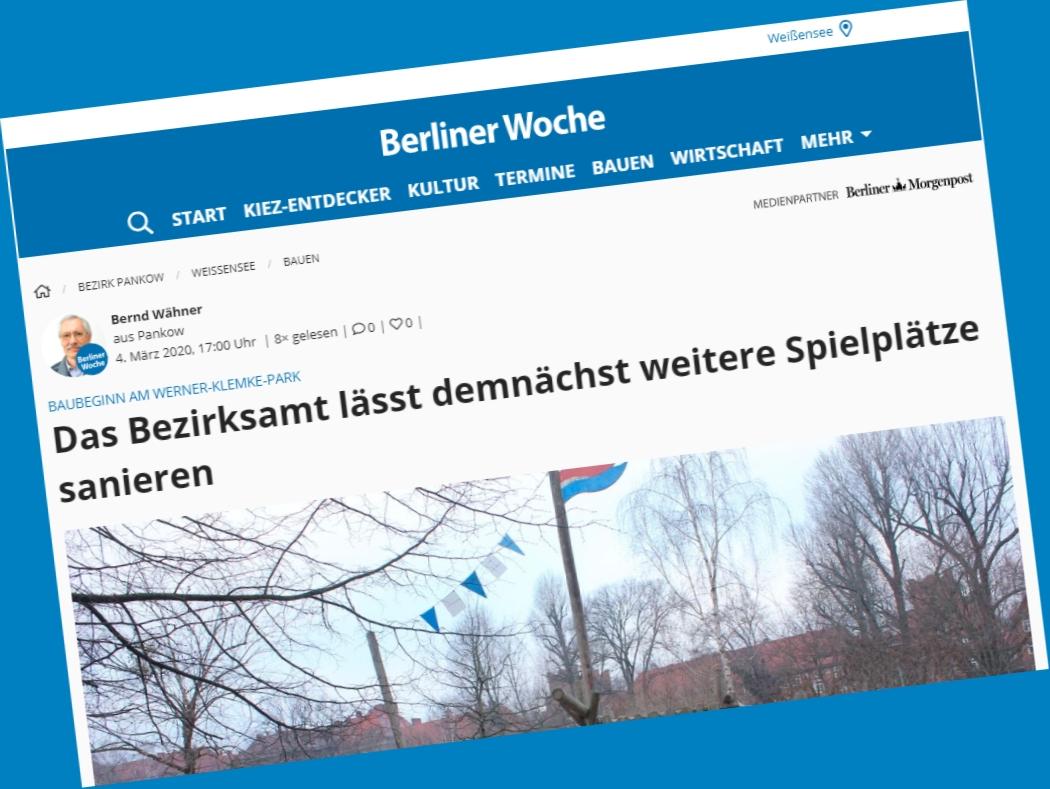 Berliner Woche Faksimile
