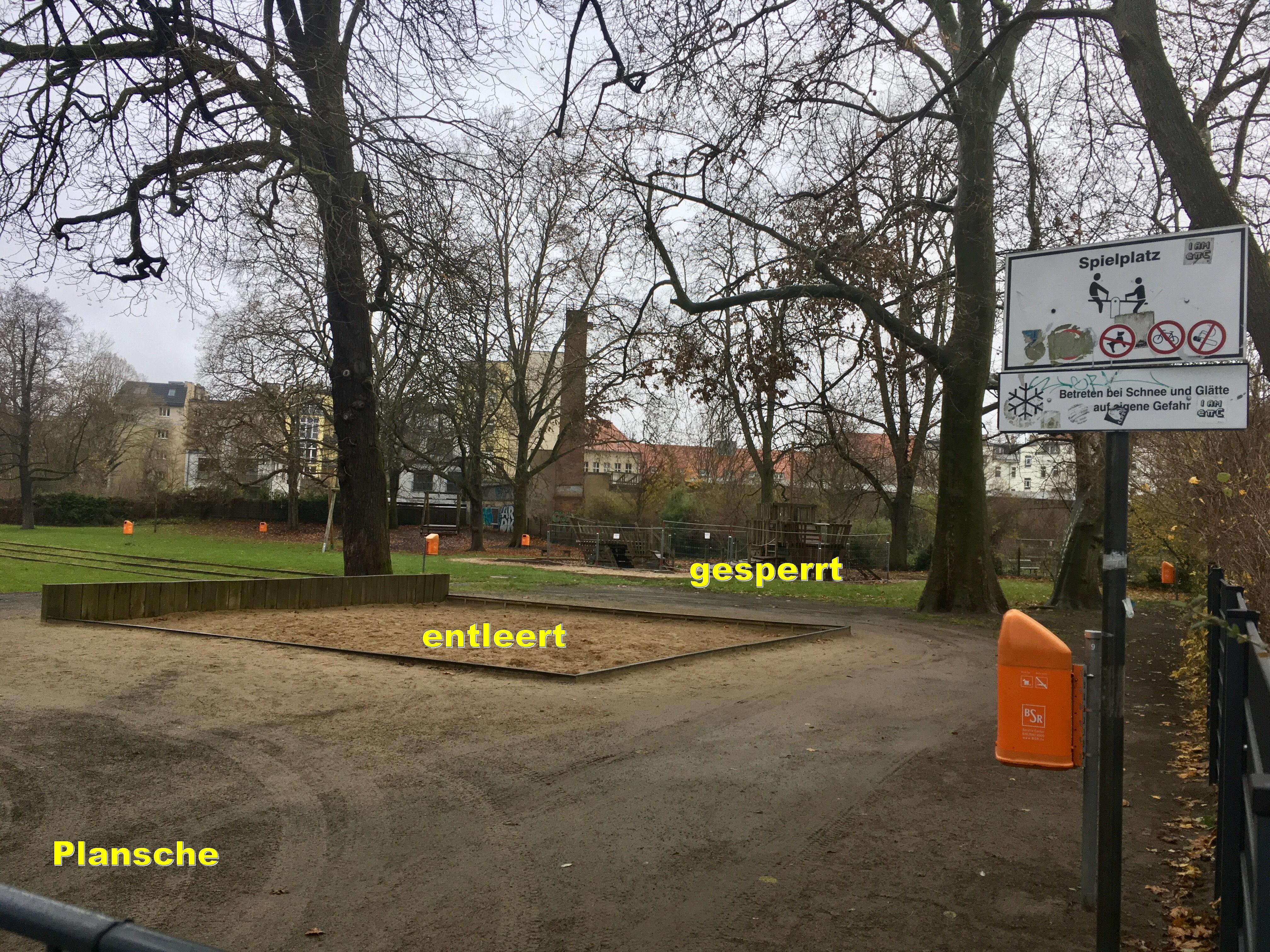 Plansche / Weißer See 2