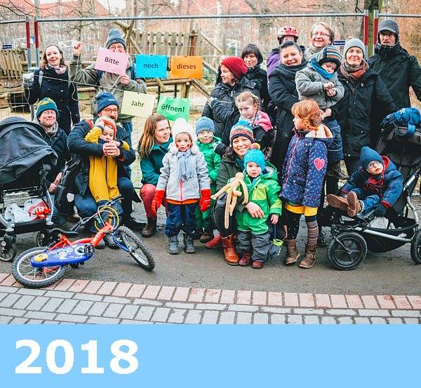 Bild: Fototermin 13. Februar 2018,  Spielplatz am Goldfischteich / Schiffsspielplatz,  komplettgesperrt