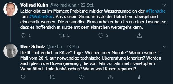 Twitter-Dialog