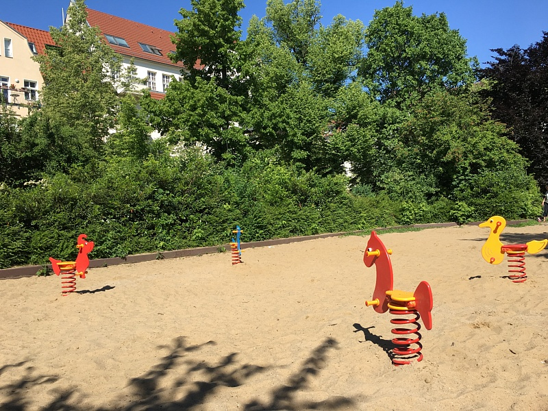 Federwipper auf dem Solonplatz