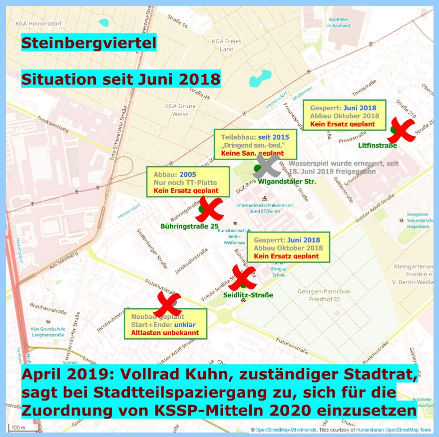 Gebiet zwischen Gustav-Adolf-Straße und Am Steinberg,  Stand: 21.06.2019
