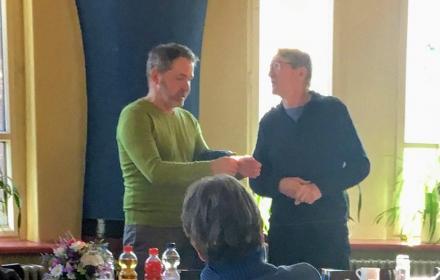 Treffen mit Sören Benn, Bezirksbürgermeister von Pankow