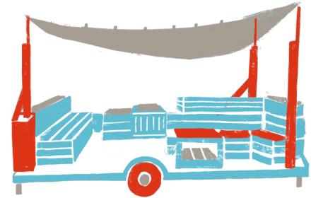 Kiezmobil kommt zum Spielstraßen- und Nachbarschaftsnachmittag